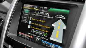 Ford MyTouch system on Ford Edge