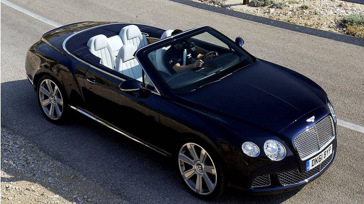 2012 Bentley Continental GTC has a 90 litre fuel tank.