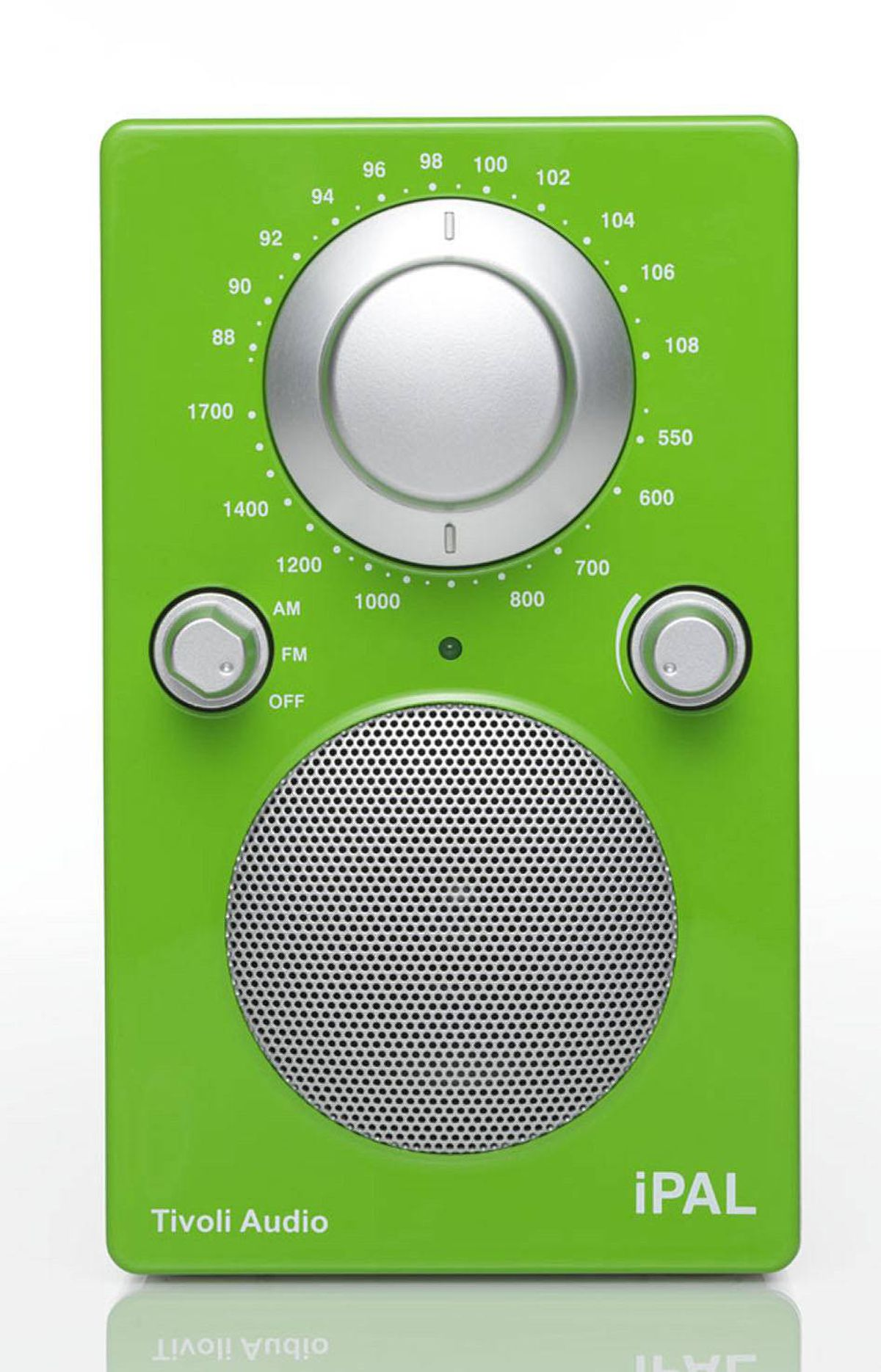 TREND: BOLD iPAL portable radio in High Gloss Green by Tivoli, $199 at Bay Bloor Radio (www.baybloorradio.com).