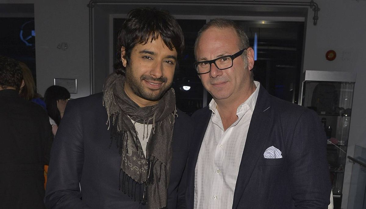 GP4_Jian Ghomeshi and Jake Gold attend Hello! Canada?s Most Beautiful Canadians red-carpet cocktail reception on May 9, 2012, at smart Centre Downtown in Toronto. Photo by George Pimentel