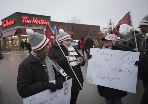 Rallies call on Hortons to take action