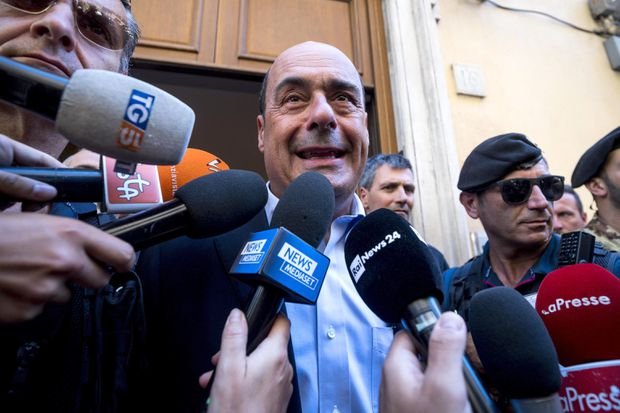 Italy's main opposition party opens door to possible 5-Star government, sets conditions