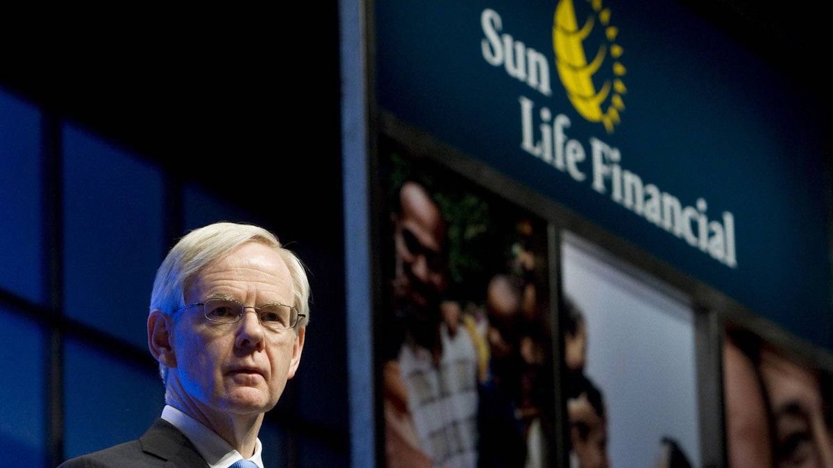 Sun Life Financial CEO Donald Stewart