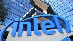 A sign is posted at the Intel company headquarters on July 20, 2011 in Santa Clara, California.