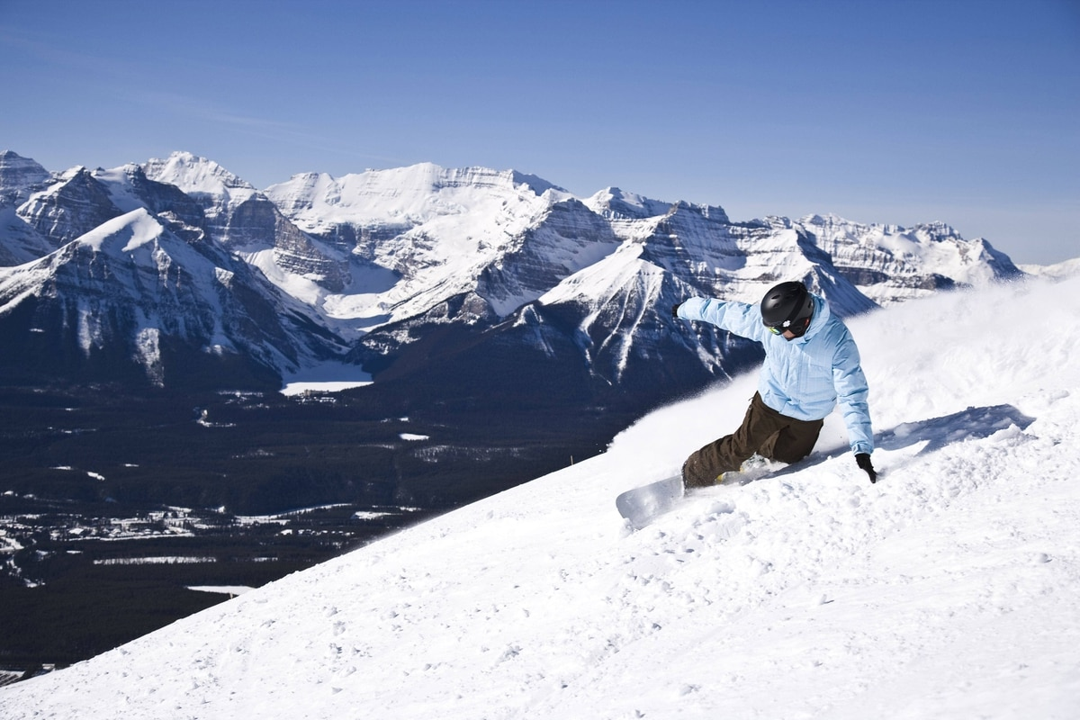 Opening day at Lake Louise was Nov. 5, and more terrain opened up Nov. 17.