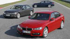 ...a stylish BMW 3 Series. This car was also picked for...