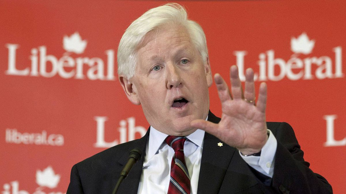 Interim Liberal Leader Bob Rae delivers a speech to his caucus in Ottawa on April 4, 2012.