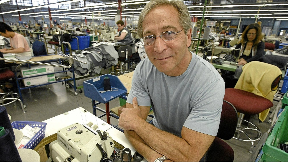 Bob Silver, president of Western Glove Works makers of Silver and 1921 jeans, photographed in his Winnipeg company's now closed sewing room Friday, June 30, 2006