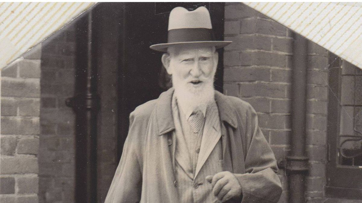 Collins' picture of George Bernard Shaw.