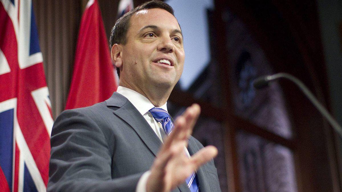 Ontario Progressive Conservative Leader Tim Hudak.