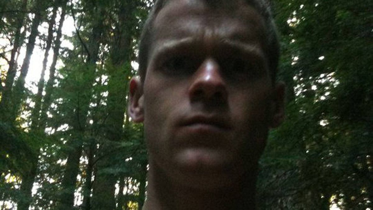 Angus David Mitchell was shot in the confrontation in rural B.C., about three hours after police issued a public warning about him.