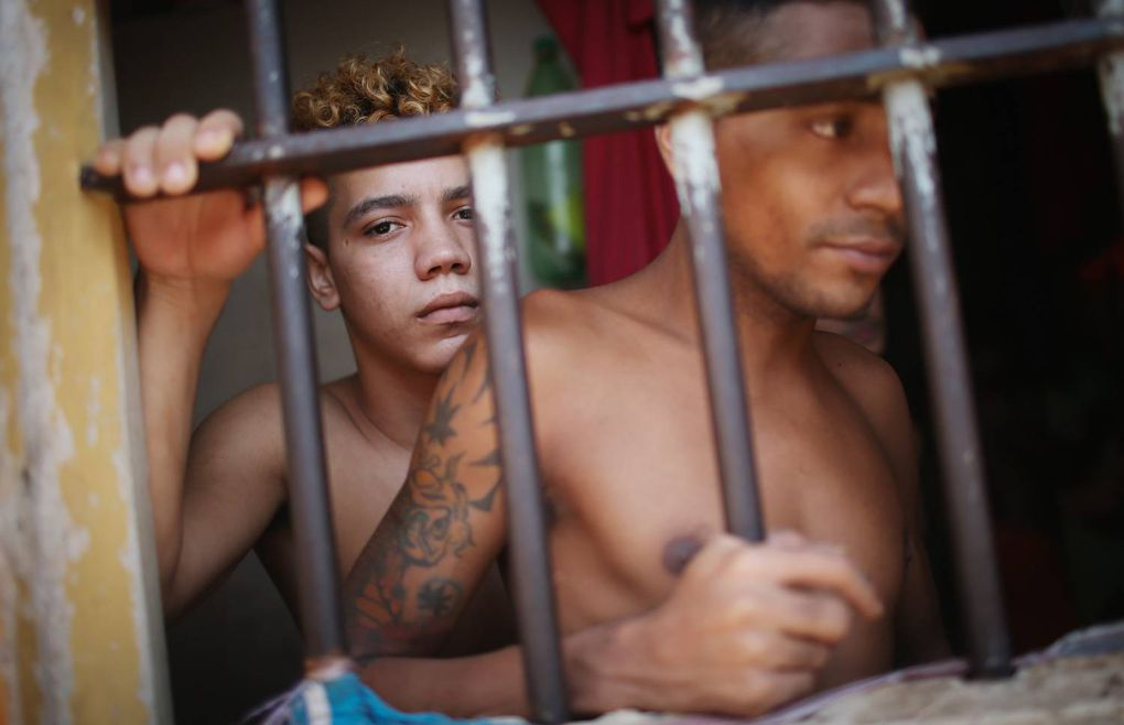 "people and prison system of brazil In a quest to ease pressures on the brazilian prison system ""many people in brazil believe that inmates must suffer collective evolution."