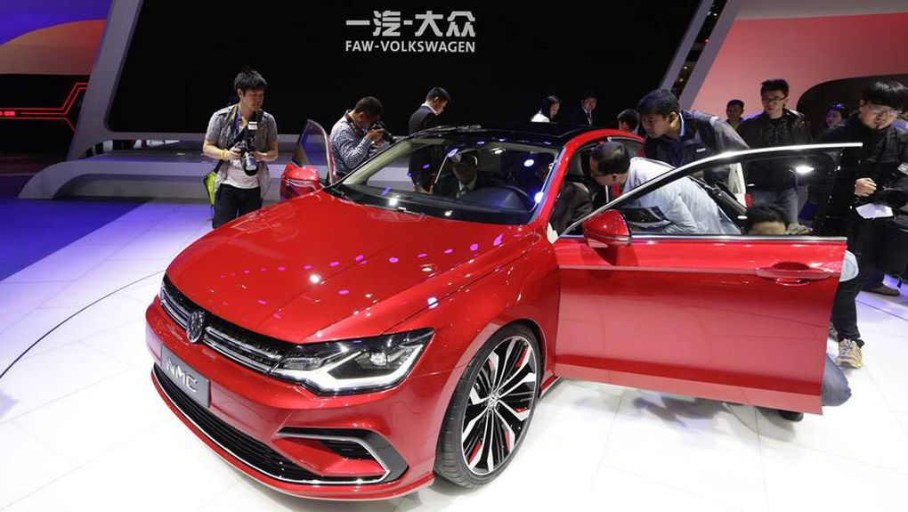 In Pictures New And Exciting Cars At The Beijing Auto Show The