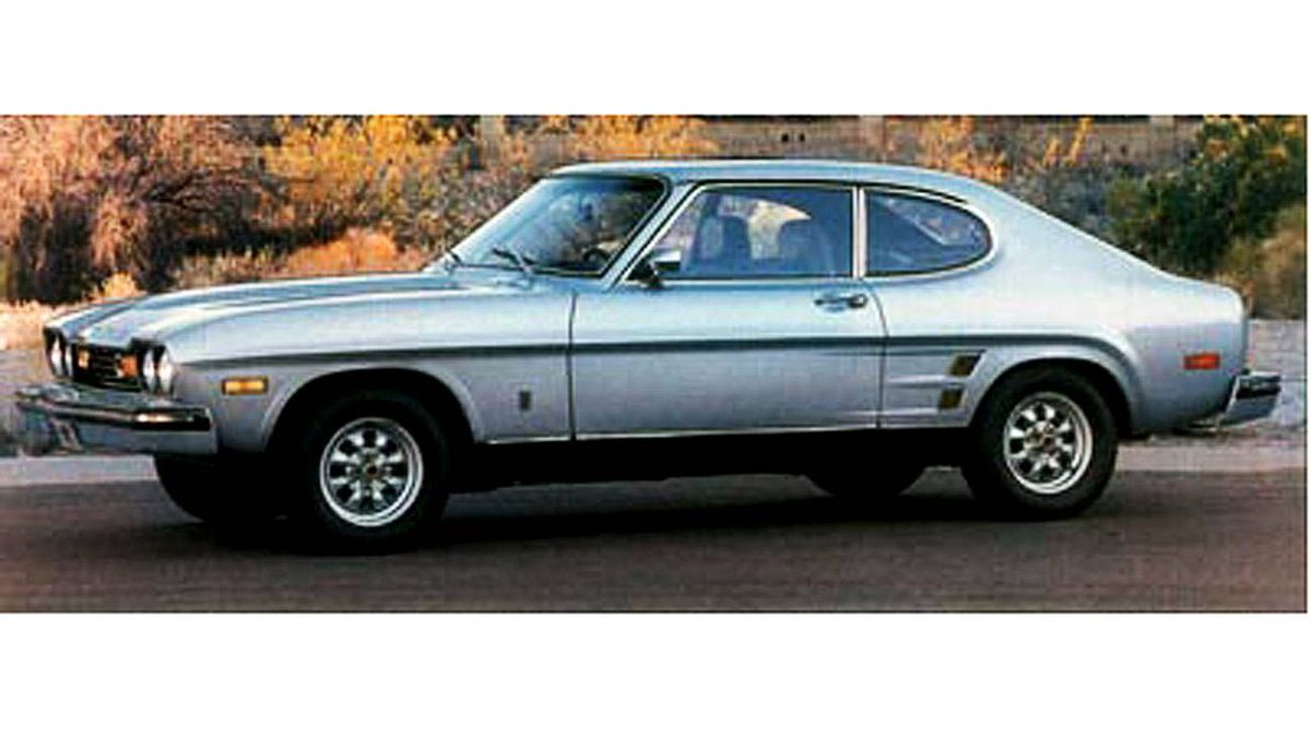 1974 Capri: Purchased in 1980 when I was 17. Quick and sporty. Forced to sell after 1 year due to high insurance costs and replaced with my Dad's huge boat - a 1972 Chevy Biscayne. Ugh.