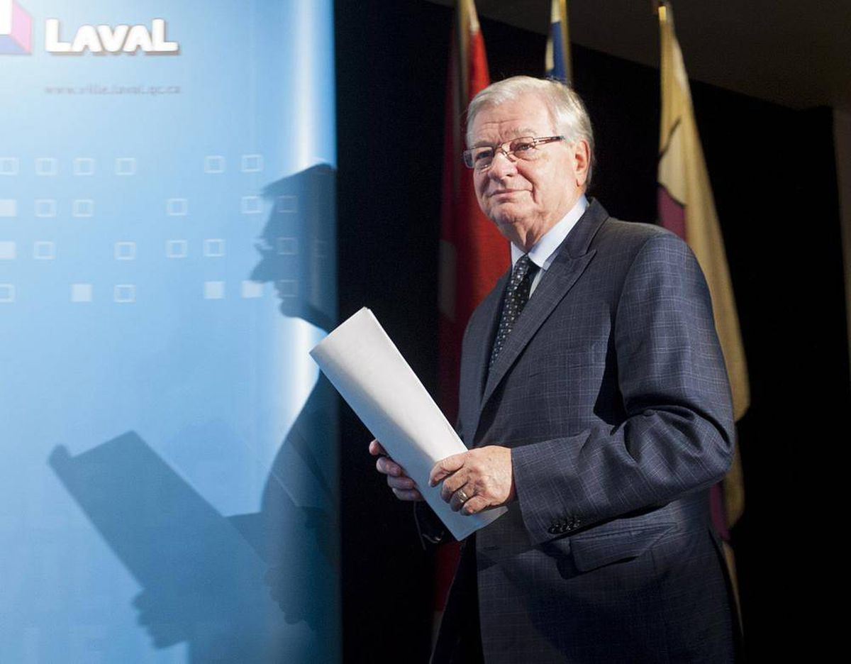 Laval Mayor Says He Won T Step Down After Quebec Police Raid Home The Globe And Mail