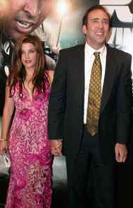 Lisa Marie Presley and actor Nicolas Cage lasted a mere three months after marrying in August 2002. The divorce proceedings lasted seven times longer than the marriage.