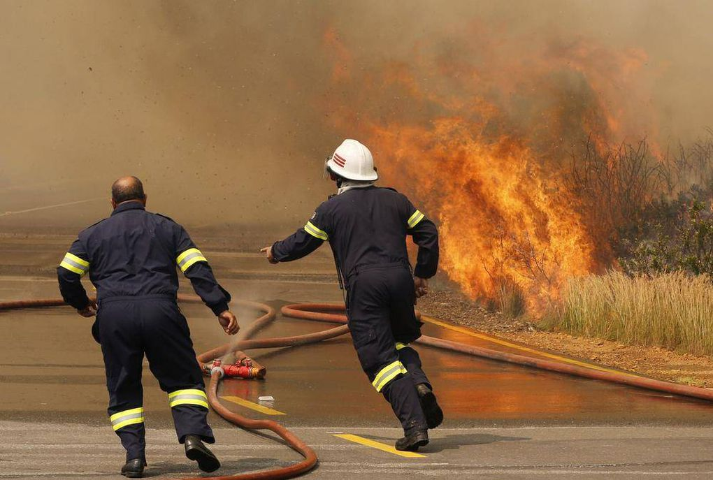 Wildfire in Cape Town