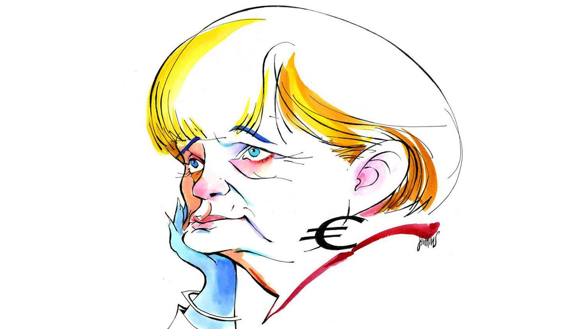 Angela Merkel has made believers of the business leaders at Davos. But Europeans will still need the hope of economic growth and political goodwill to move forward with their larger project