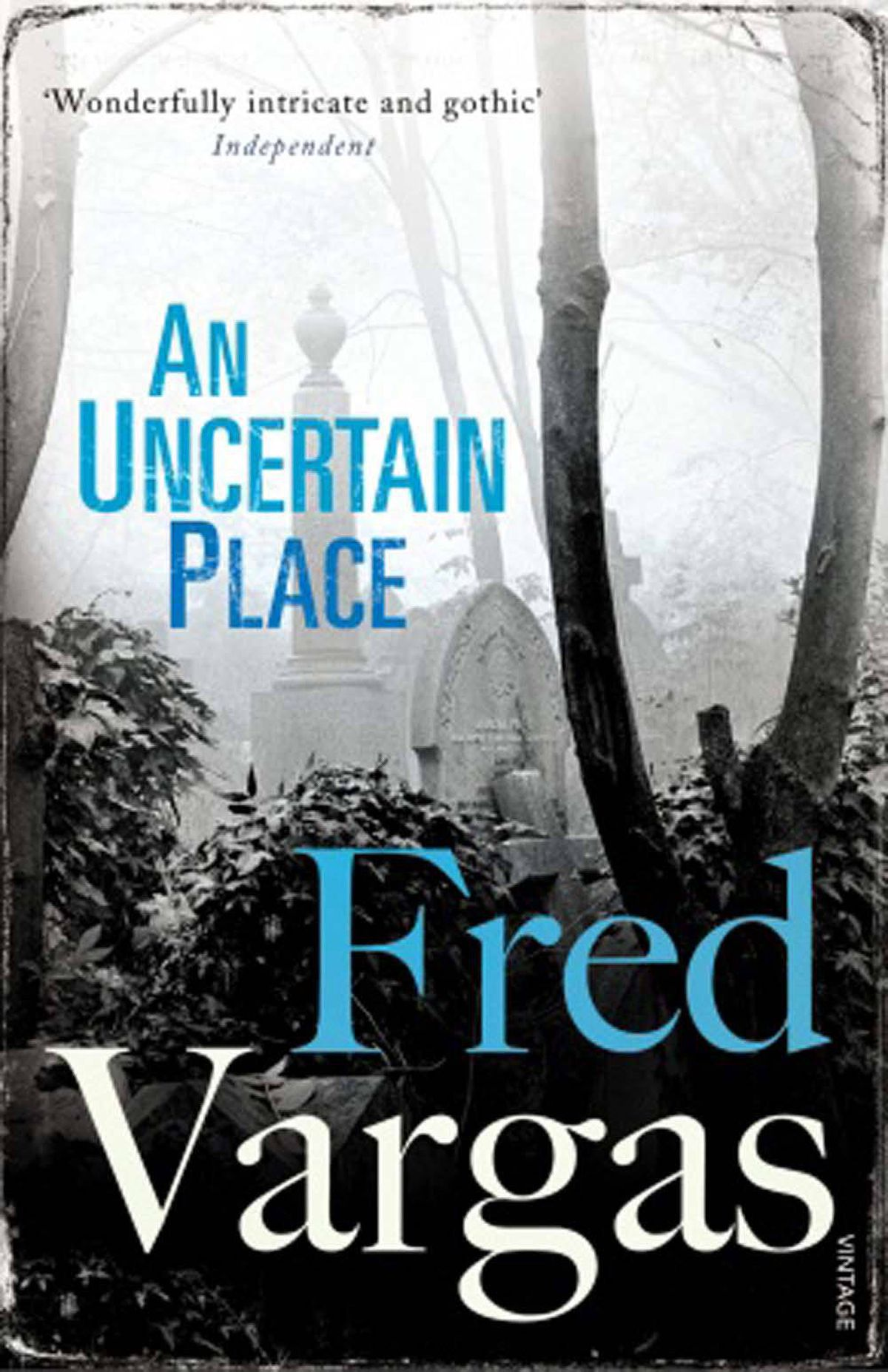 AN UNCERTAIN PLACE By Fred Vargas, Vintage Commissaire Adamsberg goes to London and back in this brilliantly constructed mystery. The best Vargas.