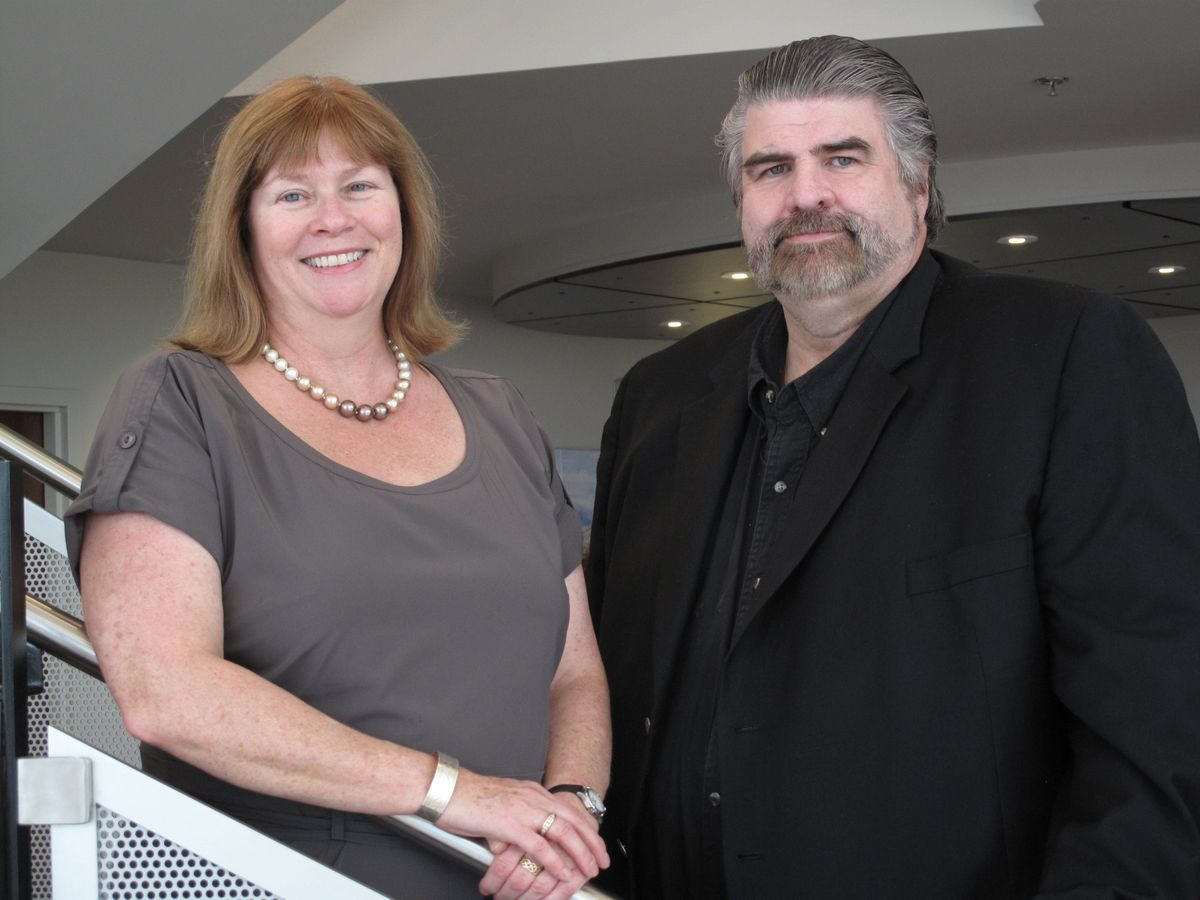 Kathy, left, and Terry Malley of Malley Industries Inc.