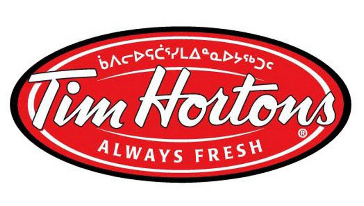 Tim Hortons sign for stores in Iqaluit