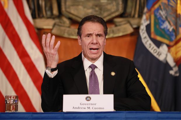 Andrew Cuomo: New York past coronavirus 'apex'