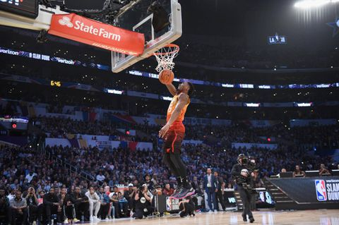 Donovan Mitchell caps NBA All-Star challenges with dunk success