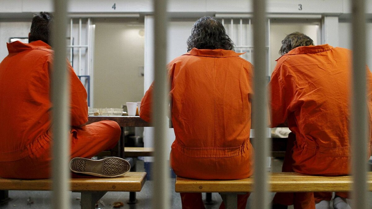 Inmates bide their time in a Toronto jail in February of 2011.