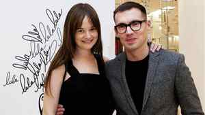 Leith Clark, editor-in-chief of Lula magazine and curator of the Lula magazine pop-up shop and designer Erdem Moralioglu