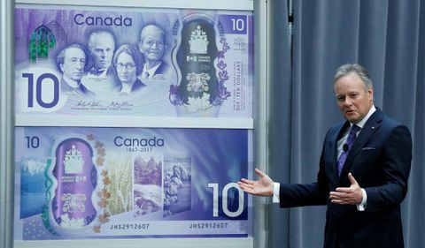 New $10 bill unveiled to celebrate Canada's 150th birthday