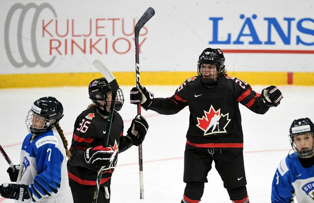 Loren Gabel Has Three Point Night Leads Canada Over Finland At