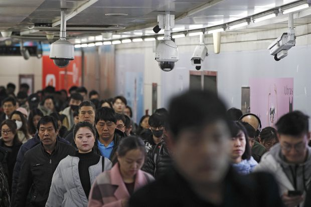Chinese courts have put on social-credit punishment list about 13.5 million people deemed untrustworthy