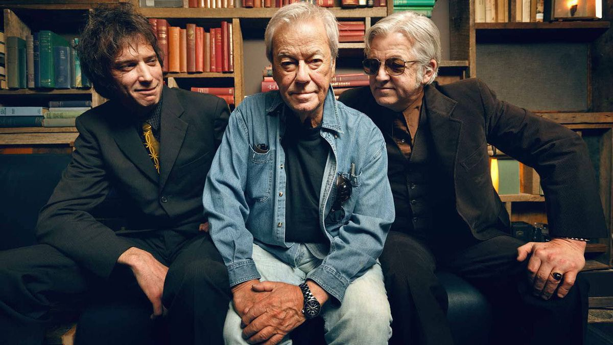 """Travis Good of The Sadies, Gordon Pinsent and Blue Rodeo's Greg Keelor recently came out with the album """"Down and Out in Upalong."""" They are photographed at The Drake Hotel in Toronto on April 12, 2012."""