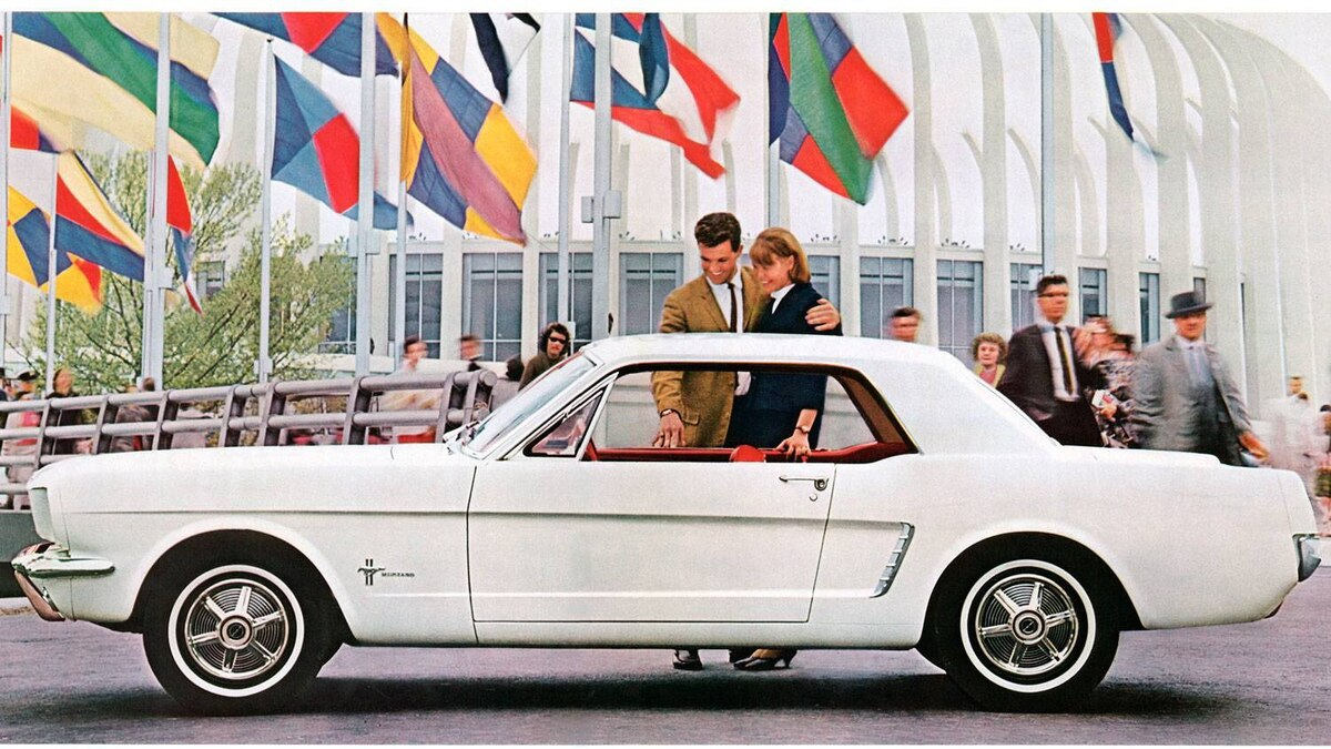 Ford Mustang at the 1964 World's Fair