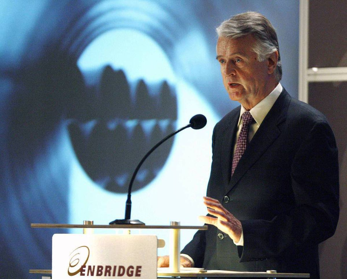 Enbridge president and chief executive officer Patrick Daniel