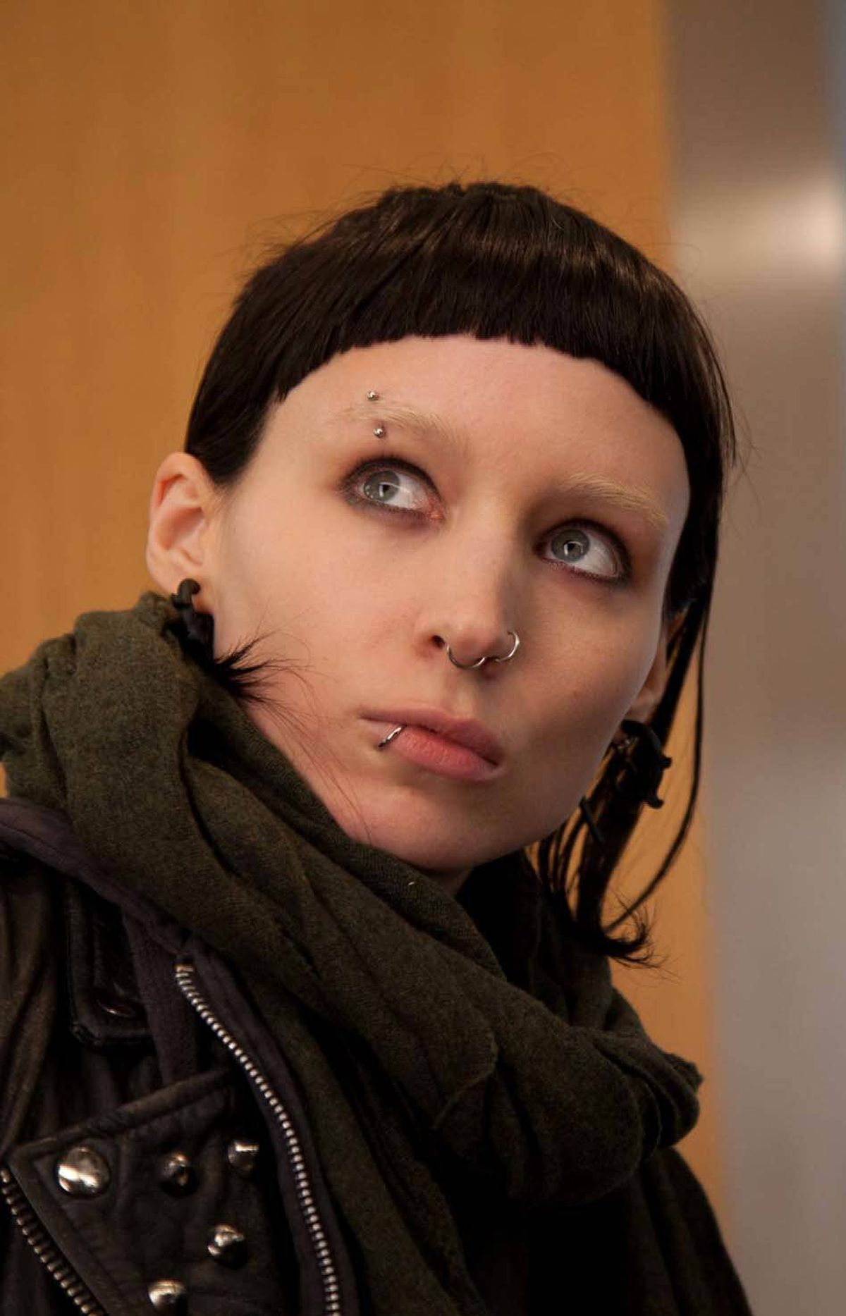 """Rooney Mara is nominated for """"The Girl With The Dragon Tattoo."""""""