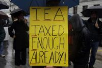 Tea Party protesters gather in Harrisburg, Pa., in this 2009 photo.