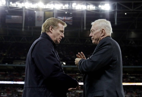 NFL accuses Cowboys owner of engaging in conduct detrimental to the league