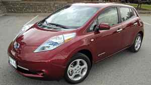 Nissan Leaf __Credit: Petrina Gentile