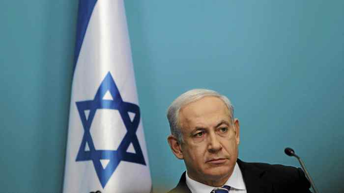 Israel's Prime Minister Benjamin Netanyahu attends a news conference in Jerusalem Feb. 22, 2012.