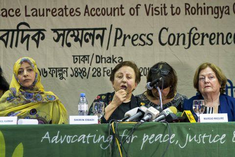 Aung San Suu Kyi, Nobel Laureates Say, Should Address Rohingya Abuses