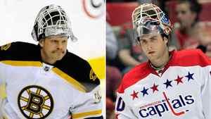 Boston's Tim Thomas and Washington's Brian Holtby