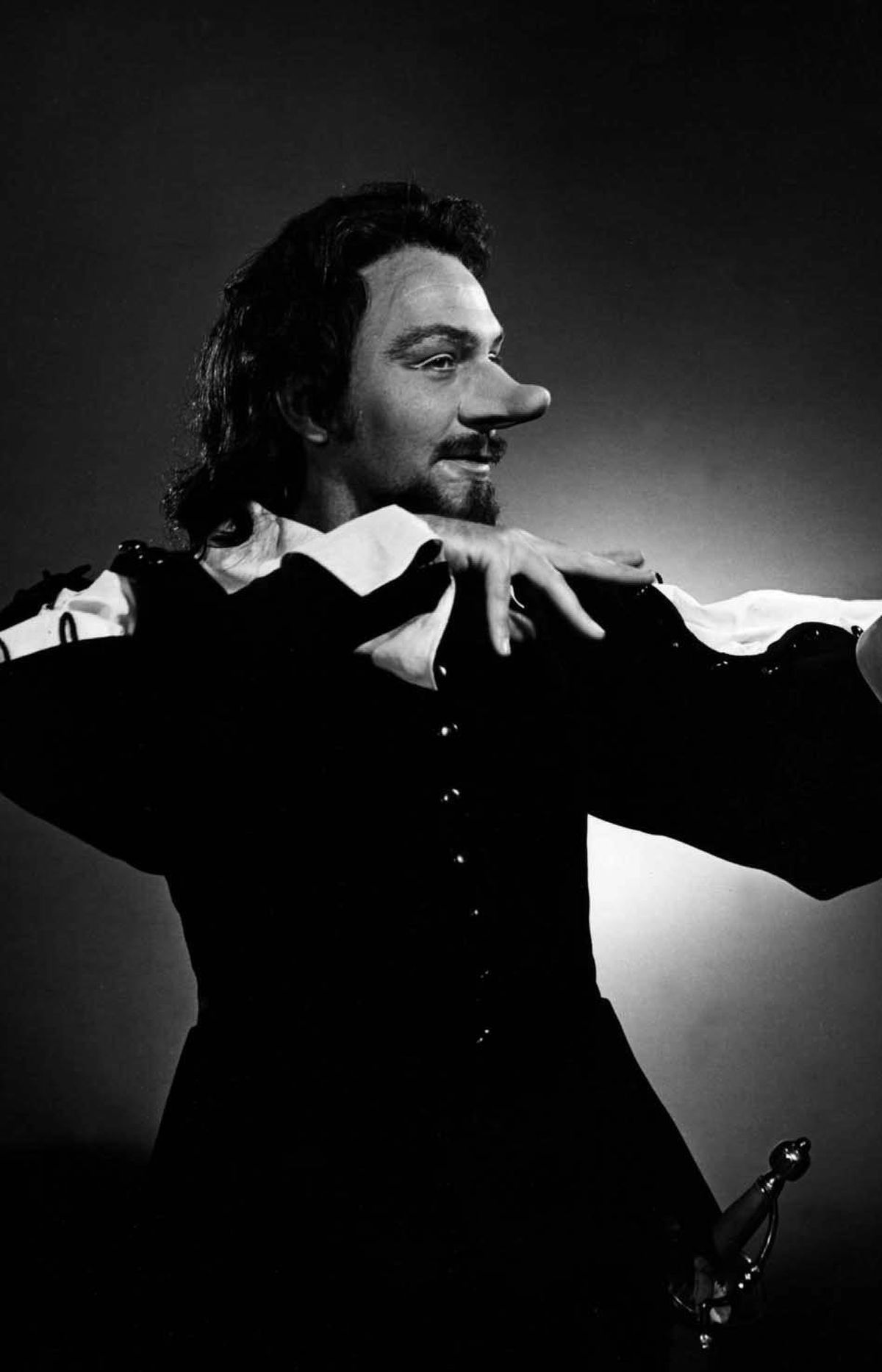 Christopher Plummer as Cyrano de Bergerac in a 1962 Stratford production.