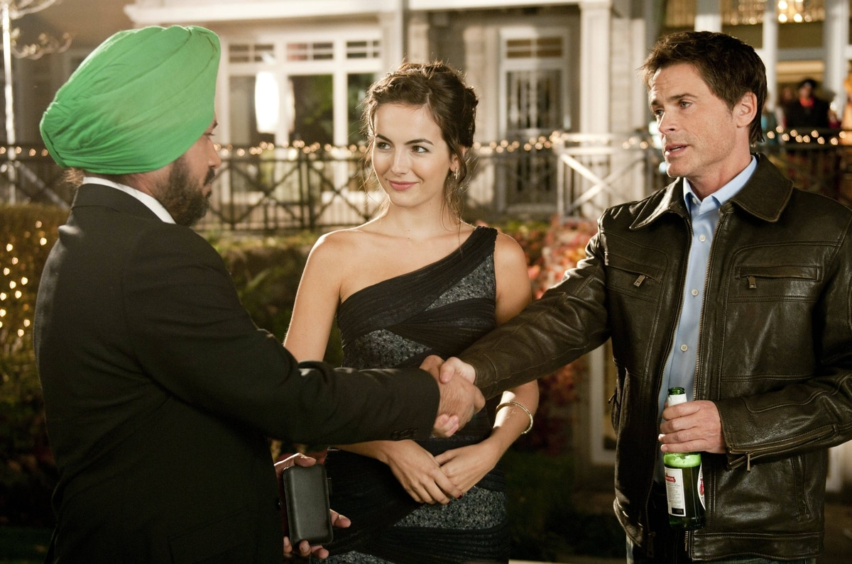 Gurpreet Singh, Camilla Belle, and Rob Lowe star in Breakaway.