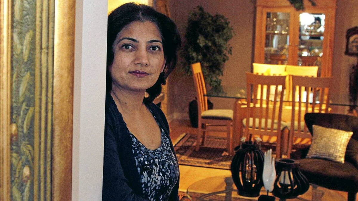 Latika Kothari, mother of two photographed for a profile on the next federal election at her Mississauga home. She says environment and education are her top issues, March 25, 2010.