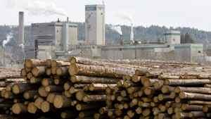 A West Fraser lumber mill