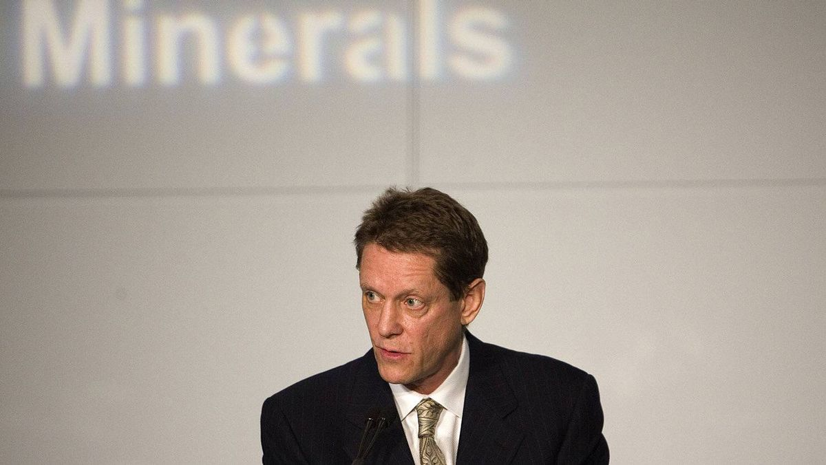 Robert Friedland, Executive Chairman of Ivanhoe Mines.