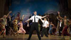 """A scene from the Broadway production of """"The Book of Mormon"""""""