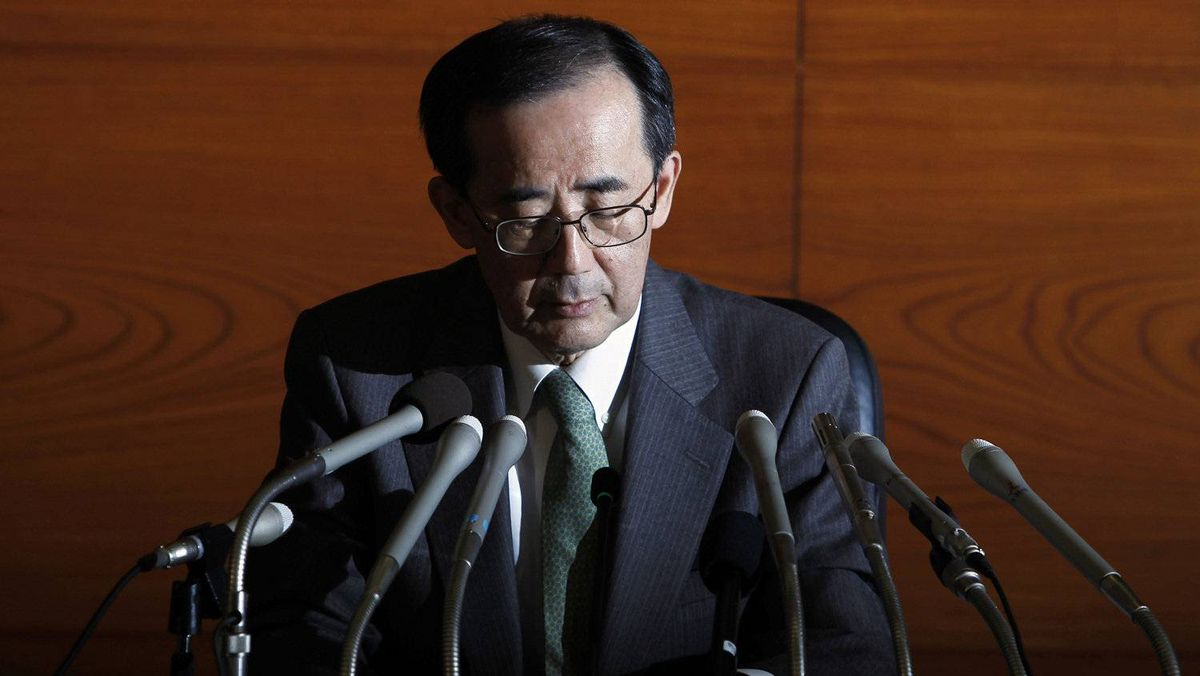 The Bank of Japan, headed by Governor Masaaki Shirakawa, trimmed its outlook for fiscal 2012 to 2 per cent from 2.2 per cent, citing a slowdown in overseas economies and the appreciation of the yen.