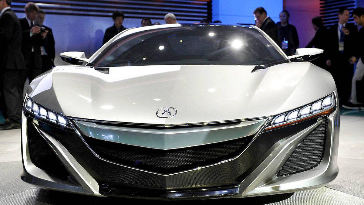 Acura NSX hybrid concept car